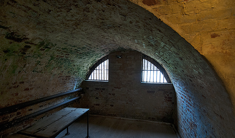 Cell in Languard Fort
